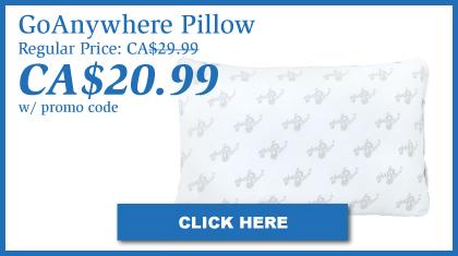 GoAnywhere Pillow