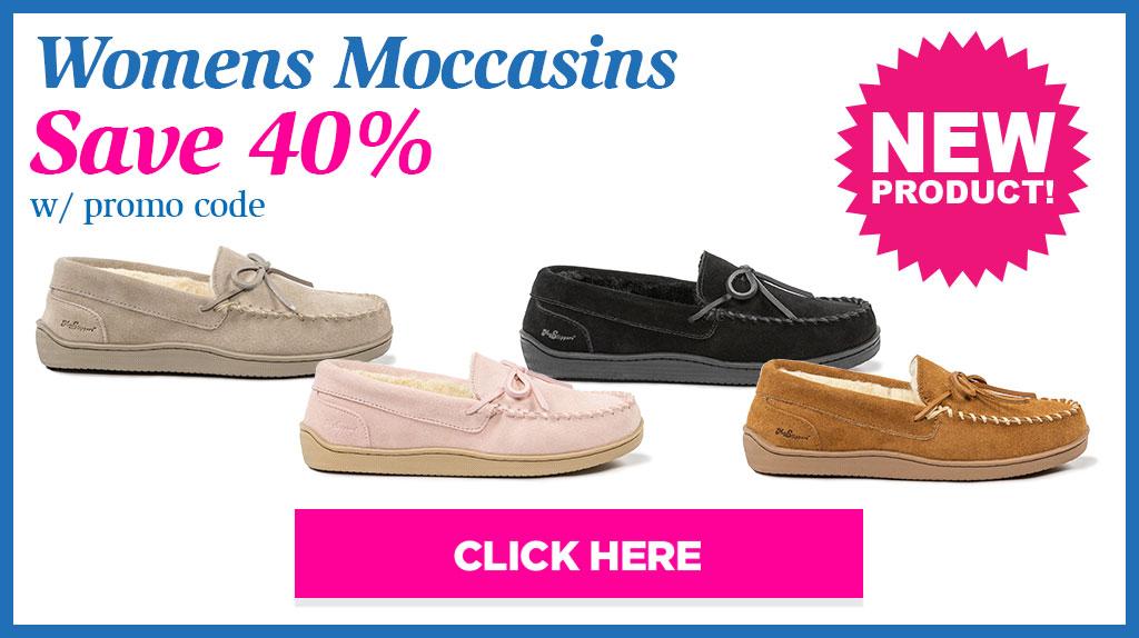 Women's Moccasins