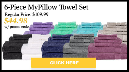 MyPillow Bath Towels