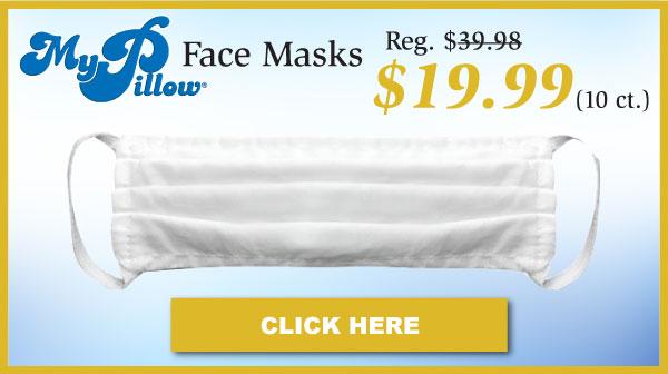 MyPillow Face Masks