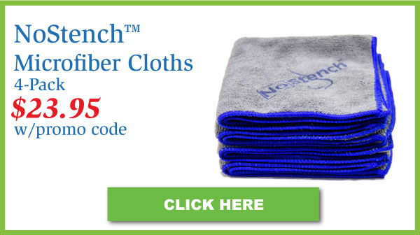 NoStench™ Microfiber Cloths