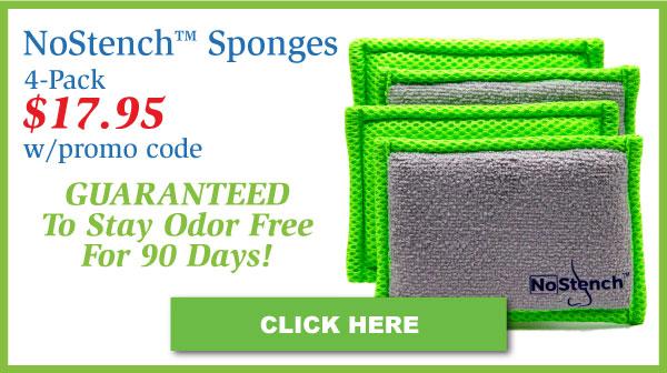 NoStench™ Sponges