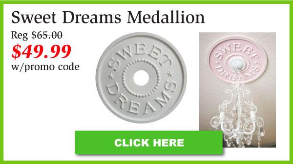 Sweet Dreams Ceiling Medallion