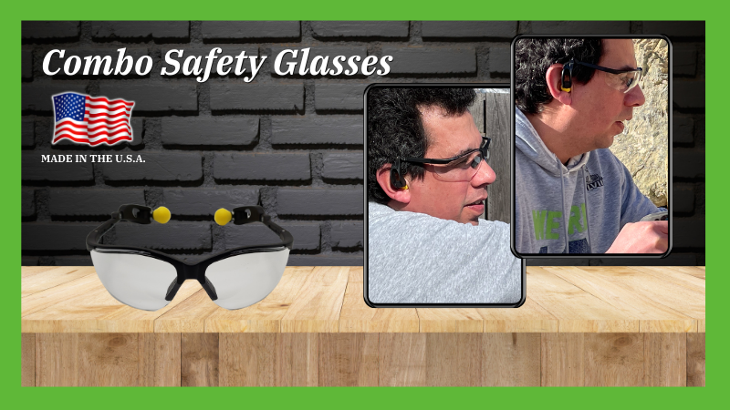 Combo Safety Glasses