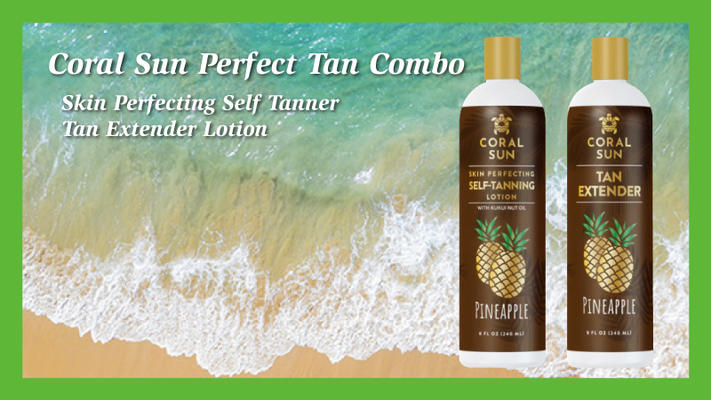 Self Tanning Lotion and Tan Extender Set