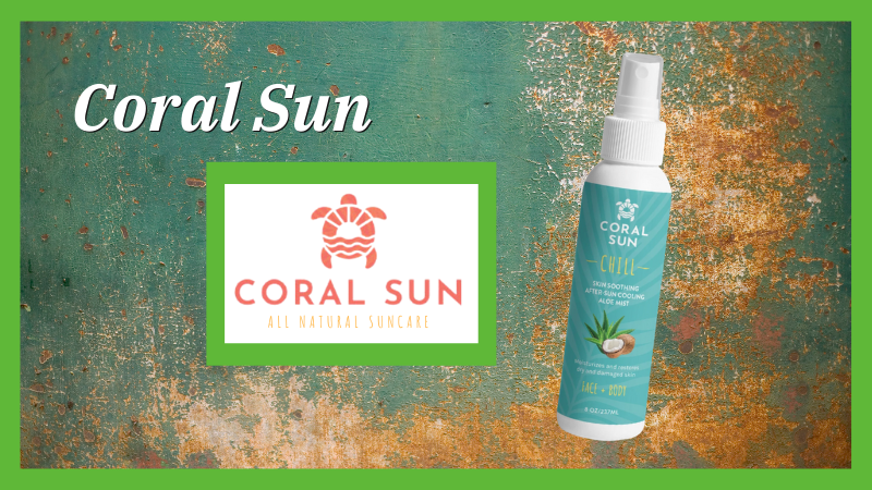 Coral Sun Cooling Spray Mist and Lip Balm Bundle