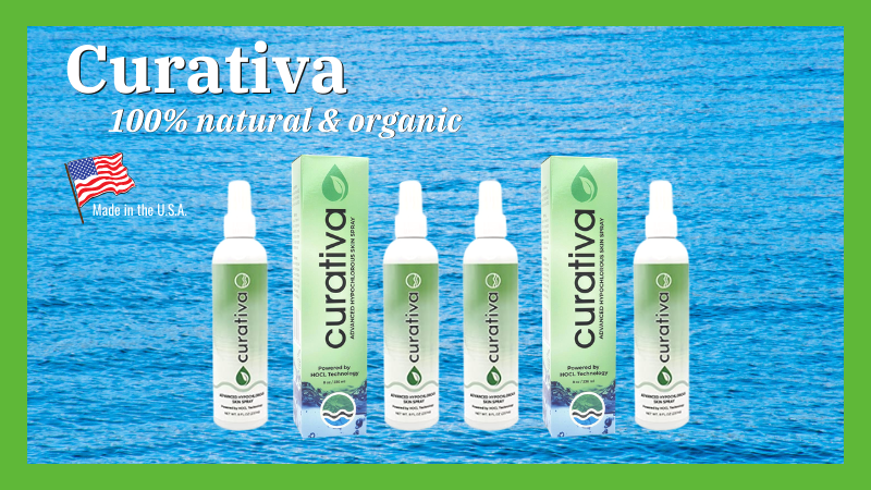 Curativa Skin Spray - Advanced Hypochlorous Acid