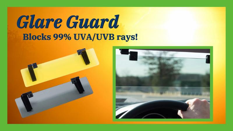Glare Guard Car Visor Extender
