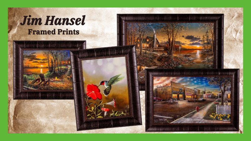 Jim Hansel Framed Prints