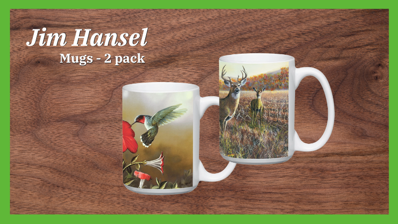 Jim Hansel Artwork Mugs