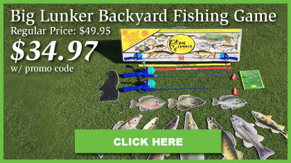 Big Lunker Backyard Fishing Game