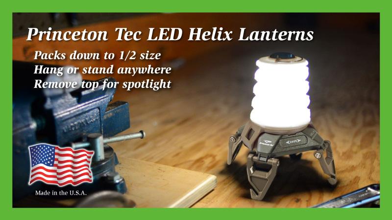 Princeton Tec LED Helix Lantern