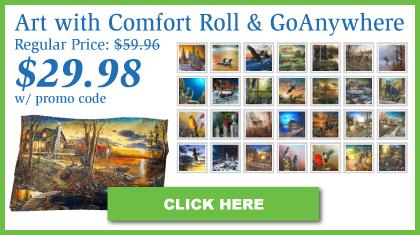 Jim Hansel Limited Edition Pillowcase + Roll & GoAnywhere™ MyPillow