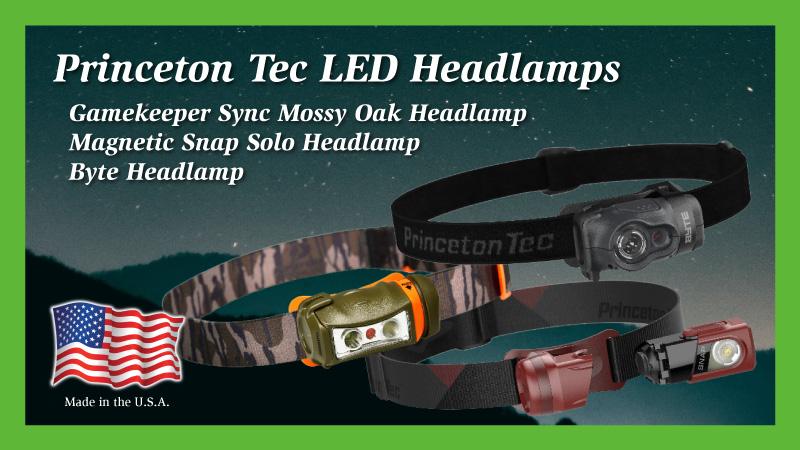 Princeton Tec LED Headlamps