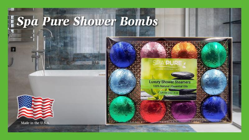 Shower Bomb, 12 pack, gift set