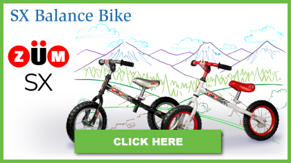 ZUM SX balance Bikes