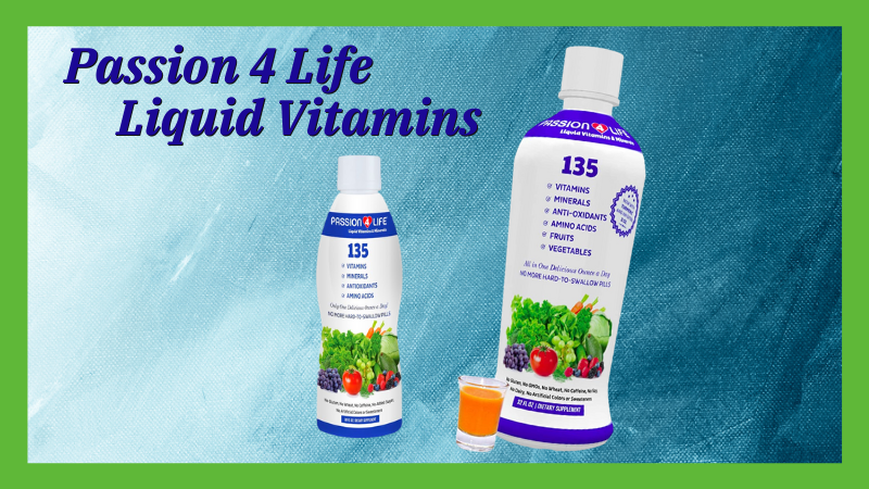 Passion 4 Life Liquid Vitamins & Minerals