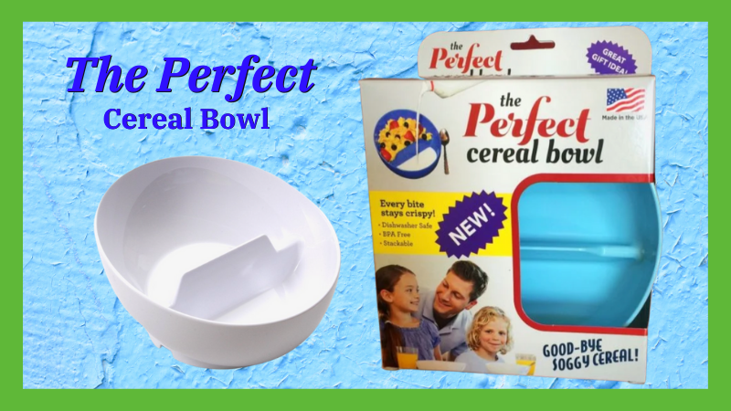 Perfect Cereal Bowl