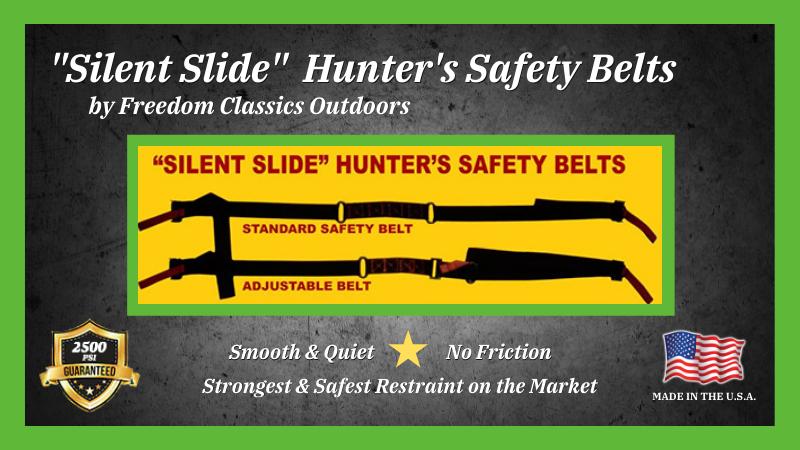 Silent Slide Safety Belts