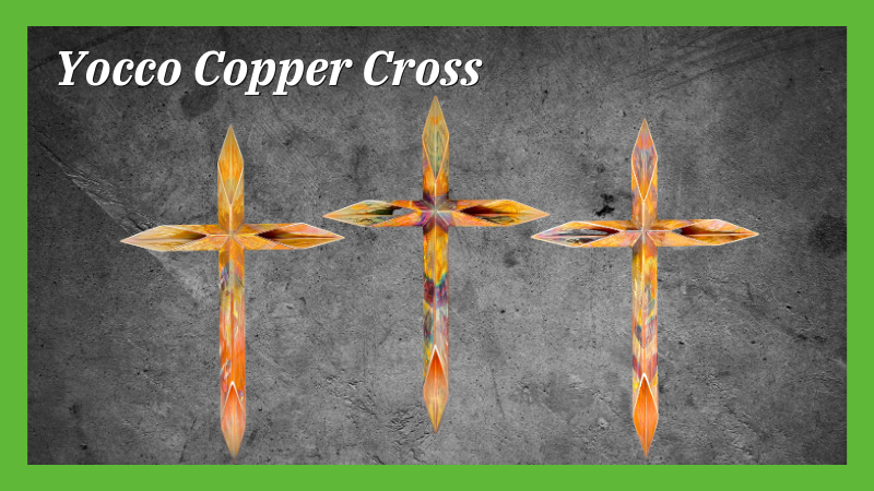 Yocco Copper Cross