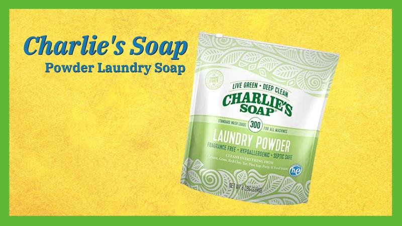 Charlie's Soap - LAUNDRY SOAP