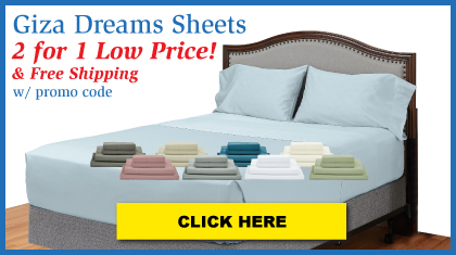 Luxury Giza Cotton Sheets