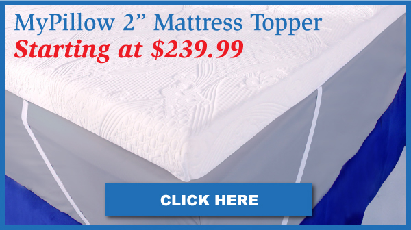 2 Inch MyPillow Mattress Topper