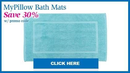 MyPillow Bath Mats