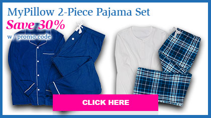 MyPillow 2-Piece Pajama Set