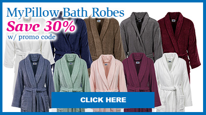 MyPillow Bath Robes