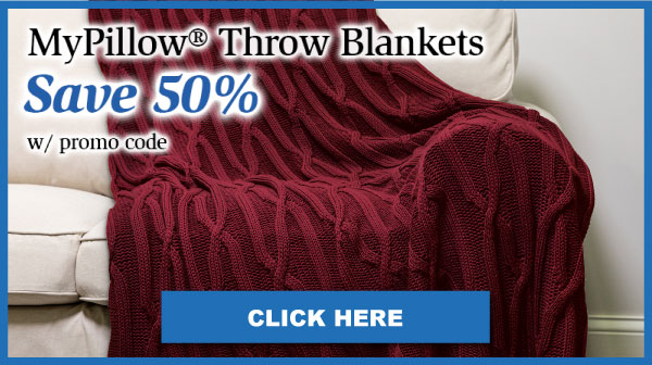 MyPillow Throw Blankets