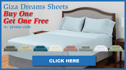 Luxury Giza Cotton Sheets