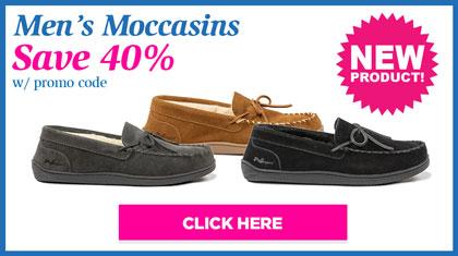 Men's Moccasins