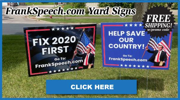 FrankSpeech Yard Signs