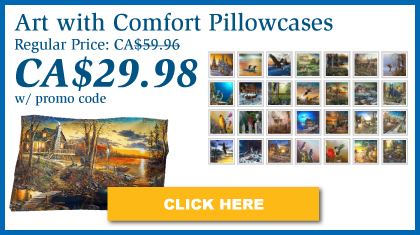 Jim Hansel Limited Edition Pillowcase + Roll & GoAnywhere™ MyPillow