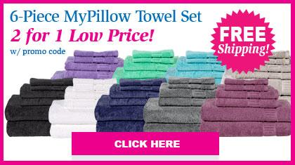 MyPillow Bath Towels