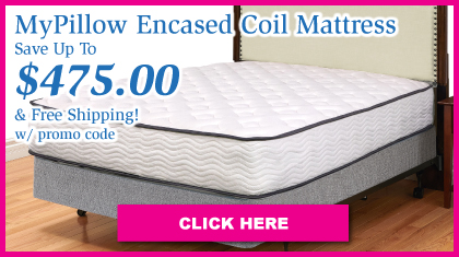 MyPillow 2-Sided Encased Coil Quilted Mattress