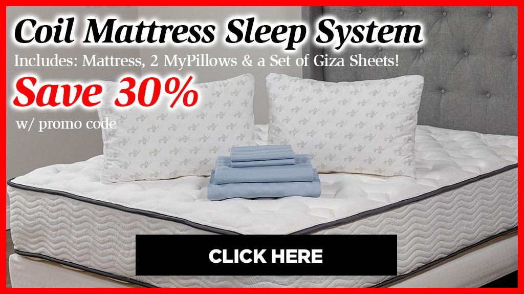 Coil Mattress Sleep System