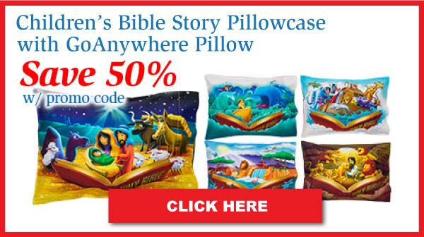 Children's Bible Story MyPillow