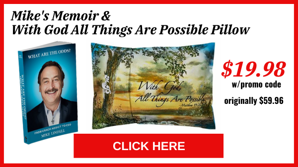 Mike's Memoir & With God All Things Are Possible Pillow