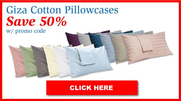 Giza Cotton Pillowcases